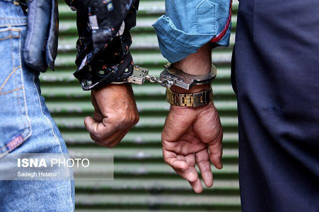 دستگیری سارقان زعفران در سرایان