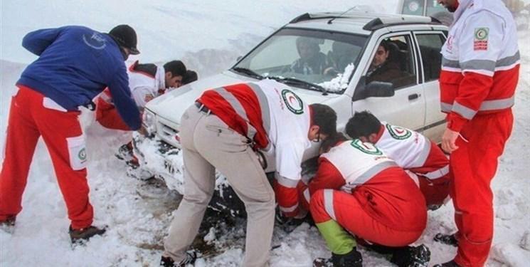 امداد رسانی به 2517 نفر در حوادث جوی