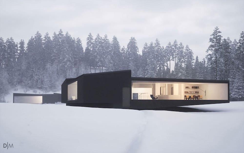 خانه های دوقلو و هندسی