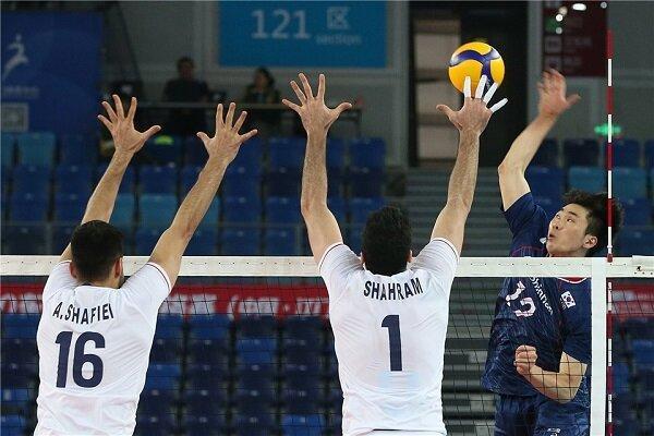 پیروزی تیم ملی والیبال ایران برابر کره جنوبی، یک پیروزی تا المپیک