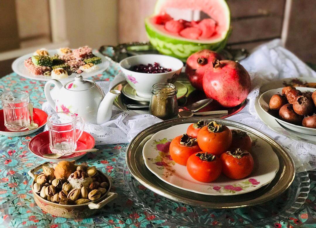شش خوراکی مرسوم در شب چلهاندر خواص خوردنی های جشن شب یلدا