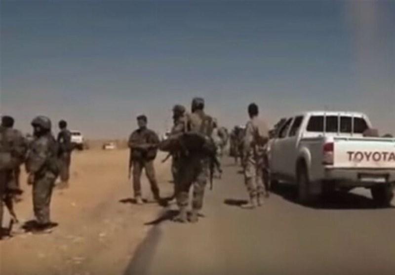 سوریه، دفع حمله تروریست ها در درعا، تکفیری ها گذرگاه ابوالضهور را به روی مردم بستند