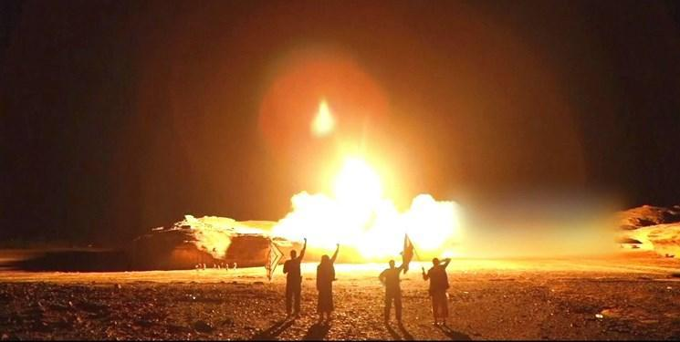 تلفات حمله موشکی به پایگاه مزدوران ائتلاف سعودی به بالای 100 نفر رسید