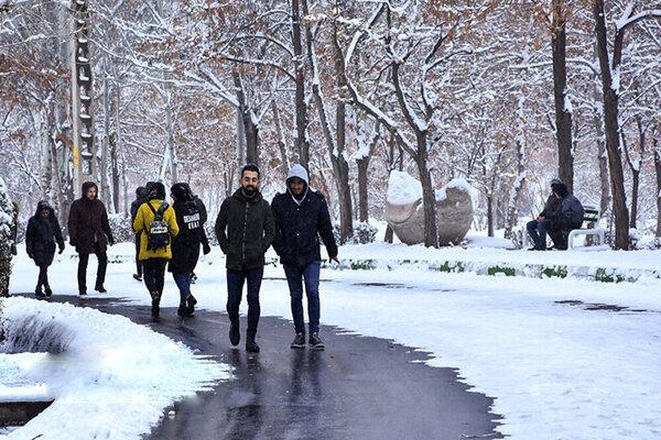 برف و باران سمنان را فرا گرفت ، استان پذیرای دو موج بارشی تا خاتمه هفته