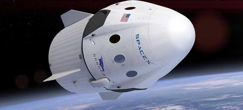 فرستادن دو فضانورد با کپسول دراگون به ایستگاه فضایی