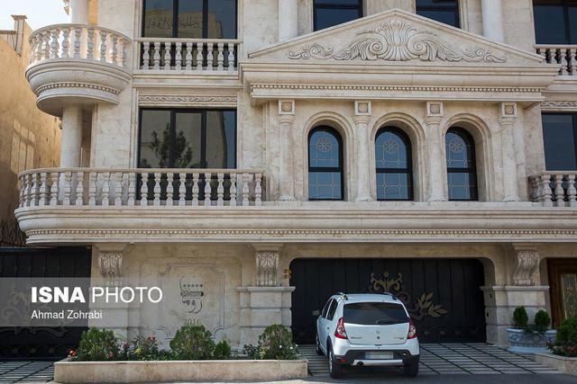سندروم کاخ نشینی با رواج نماهای رومی