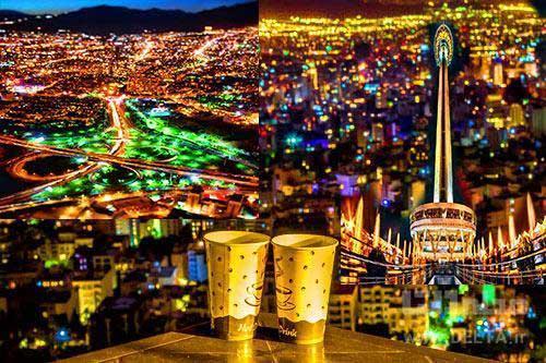 تهران گردی شبانه ؛ از بام تا شام پایتخت