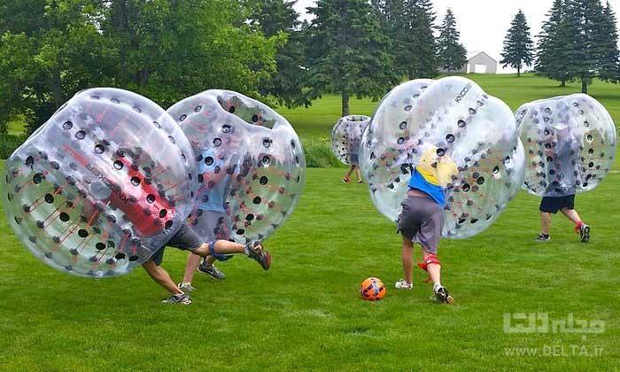 فوتبال حبابی چیست؟ ورزش مختلط !