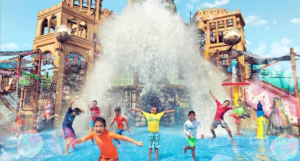 پارک آبی دبی ، شهر موج های هیجان انگیز