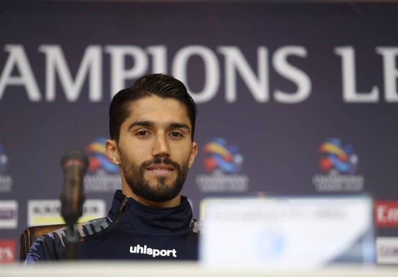 حسینی: بازی با الاهلی پلی خیلی بزرگ برای صعود به مرحله بعد است، انگیزه زیادی برای این بازی داریم