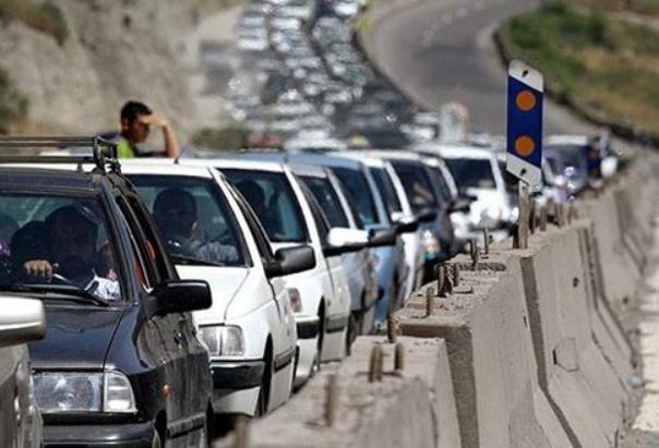 ترافیک نیمه سنگین در خروجی های تهران، محدودیت تردد تا آدینه
