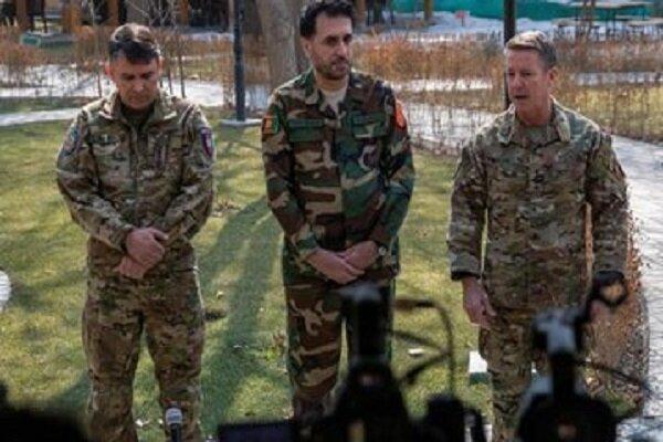 نیروهای خارجی در افغانستان عملیات خود علیه طالبان را متوقف کردند