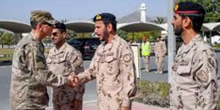 نظامیان آمریکا برای برگزاری یک رزمایش مشترک وارد امارات شدند
