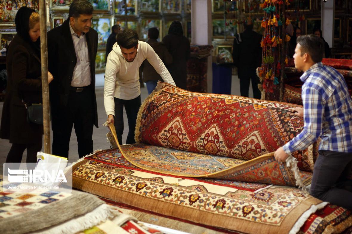 خبرنگاران رکود بازار فرش به دلیل شیوع ویروس کرونا