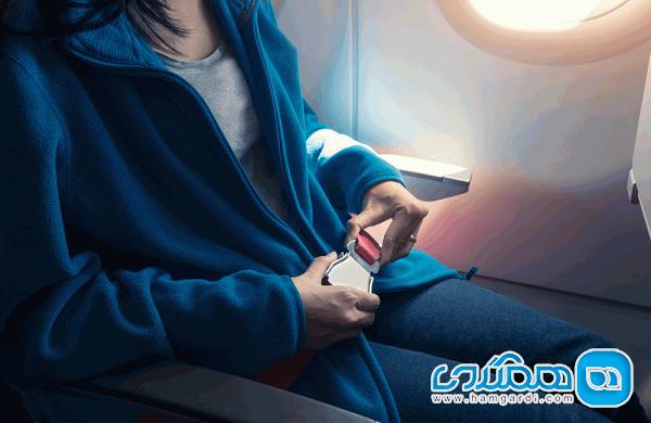 آشنایی با مزایای بستن کمربند ایمنی در هواپیما