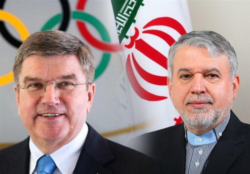 خبرنگاران نامه قدردانی رییس کمیته بین المللی المپیک از سیدرضا صالحی امیری