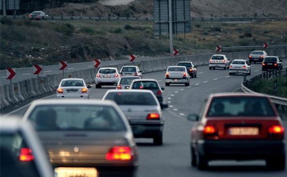 آخرین شرایط ترافیکی جاده های کشور، آدینه پانزدهم فروردین