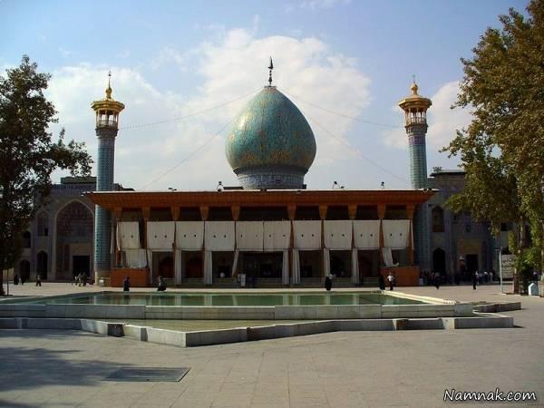 جاذبه گردشگری شاه چراغ شیراز