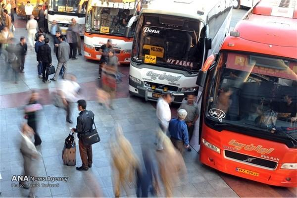 کاهش 83 درصدی مسافران نوروزی در پایانه های تهران
