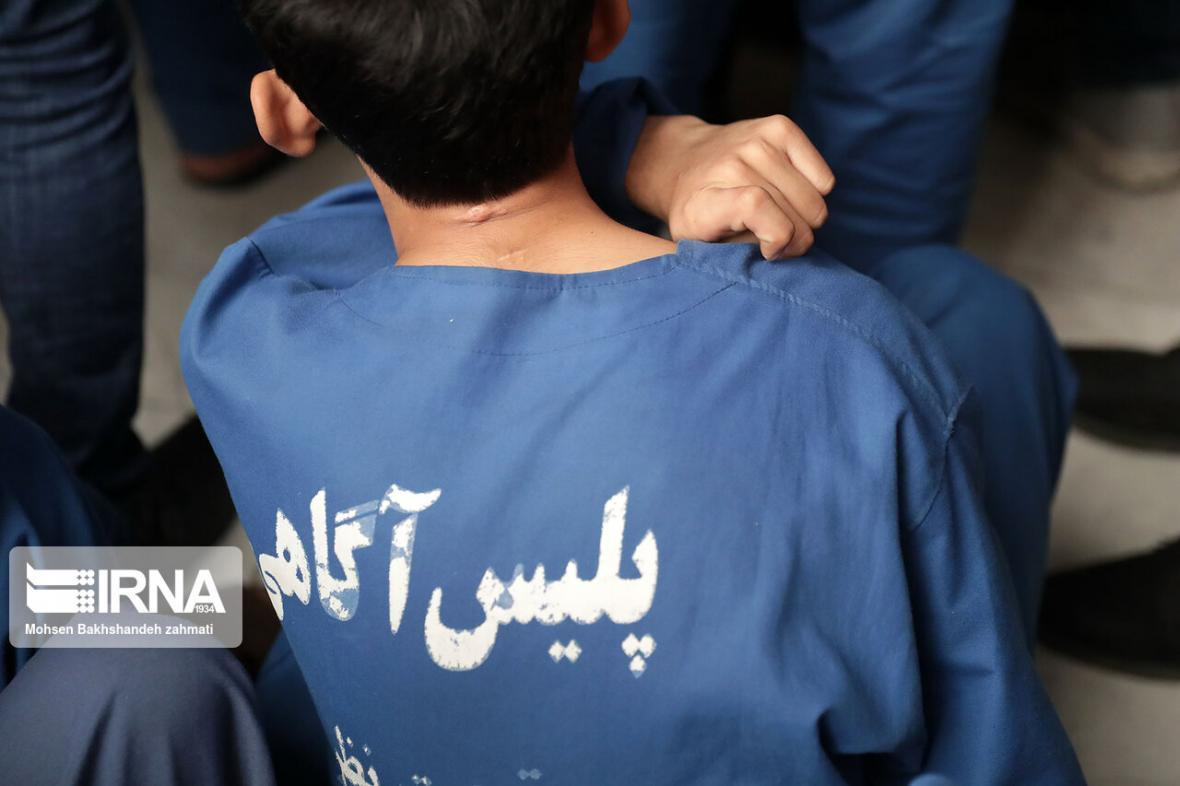 خبرنگاران دزد 17 ساله ساختمان های نیمه کاره تهران دستگیر شد
