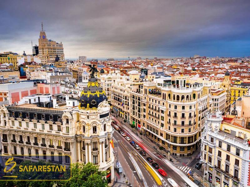 بلیط هواپیما به مادرید پایتخت سفر، فوتبال و هنر