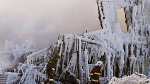 دهها سالمند کانادایی در آتش سوختند