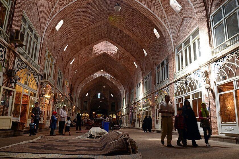 خبرنگاران مستندنگاری و نقشه برداری 90 درصد از مجموعه بازار جهانی تبریز