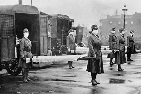 آمریکا عامل آنفلوآنزای 1918 و مرگ 50 میلیون نفر است