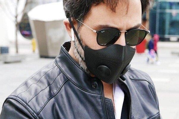 ماسک سه بعدی ضدکرونا نفس کشیدن را مختل نمی کند