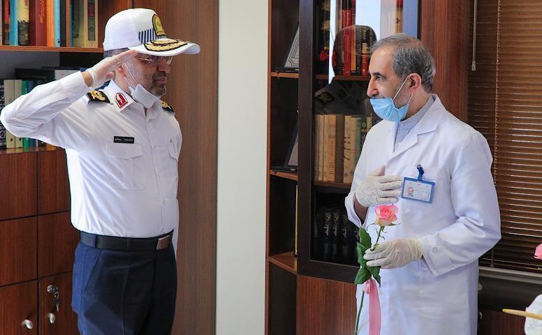 تقدیر راهنمایی و رانندگی تهران بزرگ از مدافعان سلامت