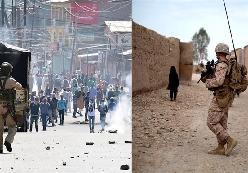 شروع موج جدید حملات نظامیان هندی به مردم معترض کشمیر