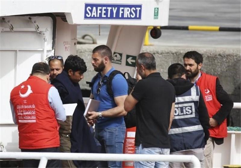 ورود مهاجران پس از اجرای توافق ترکیه-اتحادیه اروپا کاهش یافته است