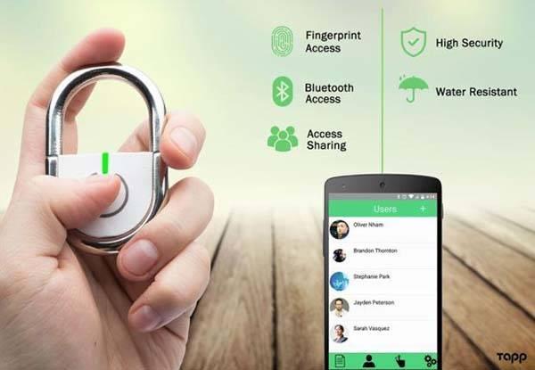 قفل هوشمندی که با اثر انگشت باز می شود