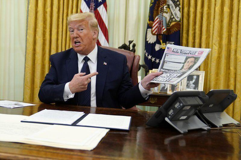 خبرنگاران ترامپ دستور اجرایی ایجاد محدودیت در شبکه های اجتماعی را امضا کرد
