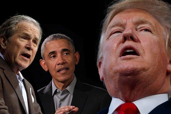 بوش و اوباما خواستار حاکمیت قانون در آمریکا و دولت پاسخگو شدند