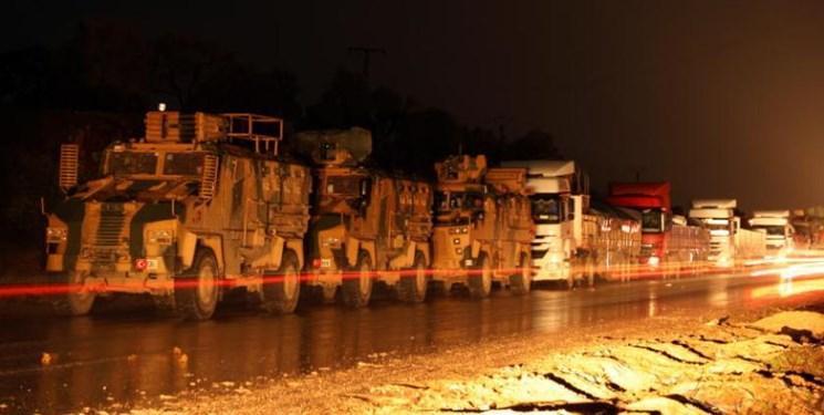 ترکیه تجهیزات جدیدی وارد خاک سوریه کرد