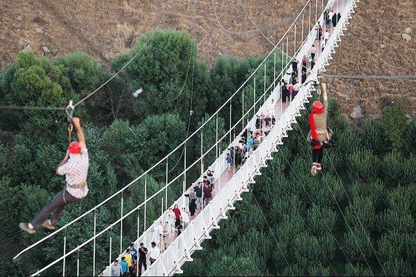 تمجید سفیر بنگلادش بعد از حضور روی پل معلق مشگین شهر
