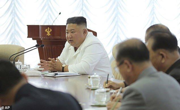 رهبر کره شمالی بالاخره ظاهر شد