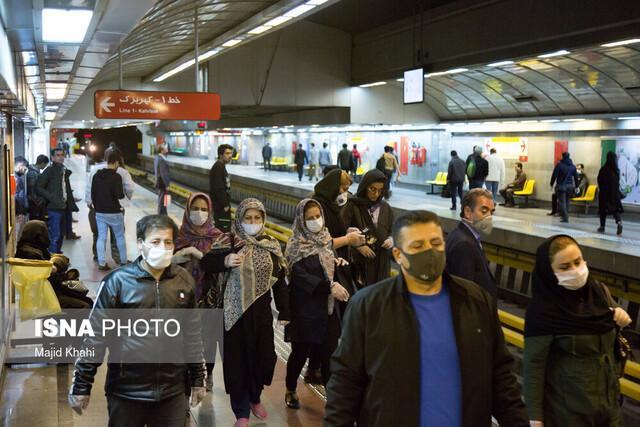 افزایش احتمال انتقال کرونا در محیط های بسته ، لزوم استفاده از ماسک در اماکن عمومی