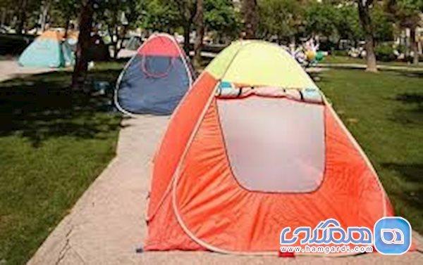 اعلام کاهش چادرخوابی در گیلان