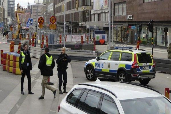 تیراندازی در یک مرکز تجاری در پایتخت سوئد