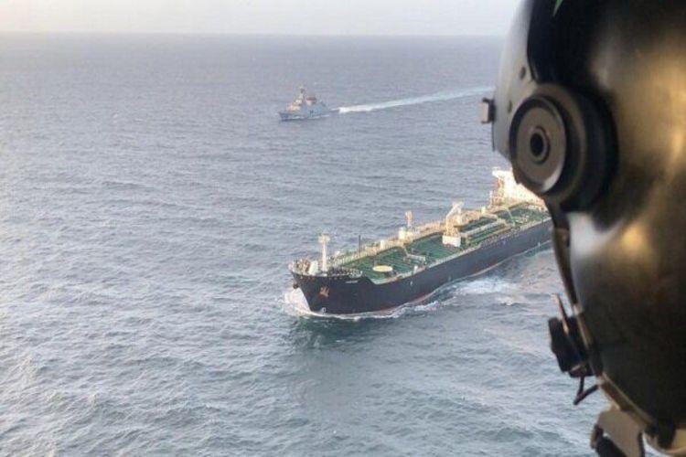 حرکت یک نفتکش ایرانی دیگر از بندرعباس به سمت ونزوئلا