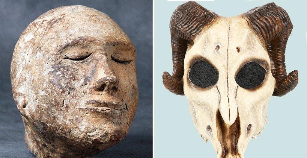 جمجمه قوچ در سر گِلی، کشف عجیب دنیای باستان