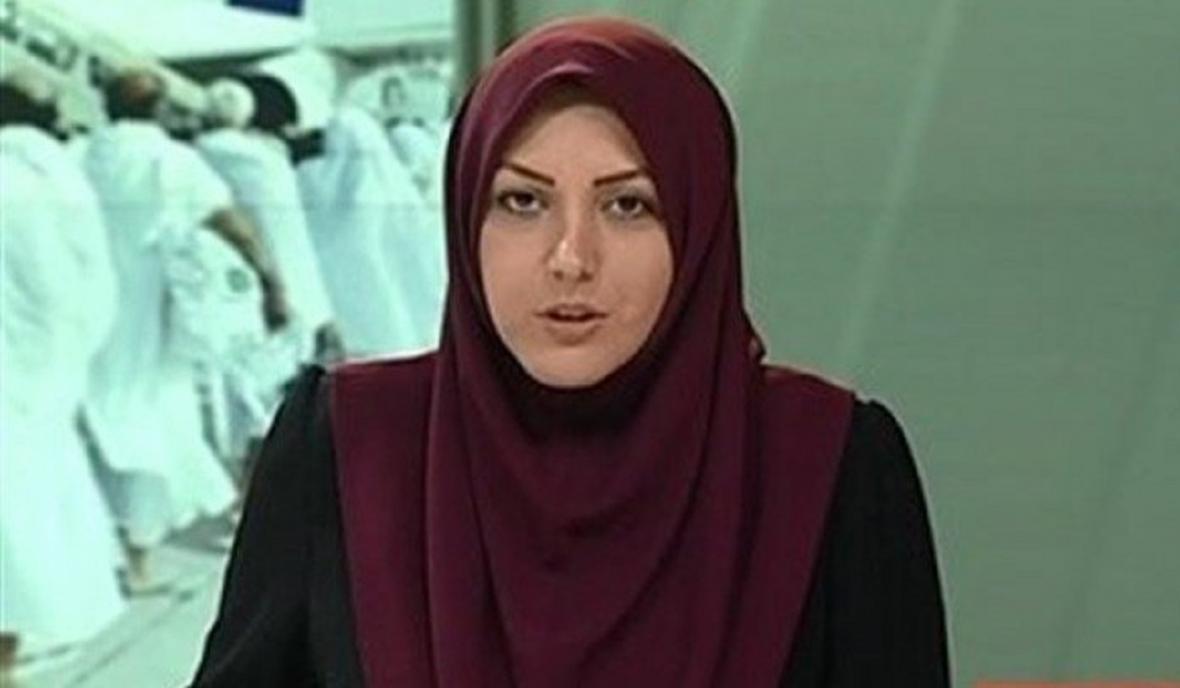 اجرای المیرا شریفی مقدم با ماسک در شبکه خبر
