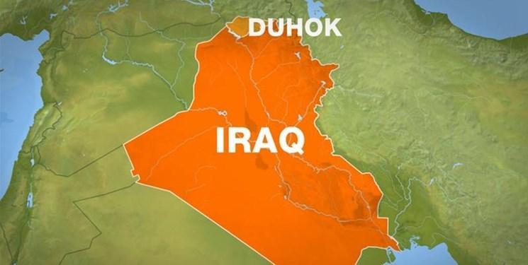 حمله توپخانه ای مجدد ترکیه به استان دهوک عراق