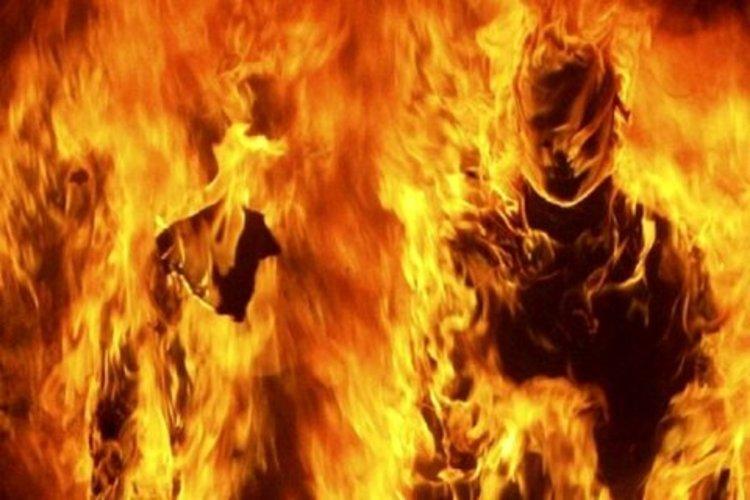 زن جوان در بیمارستان جان داد، شوهرش خودش و پسر7ساله اش را آتش زد!