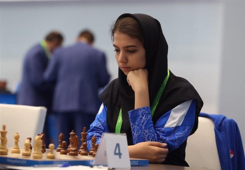 شطرنج سرعتی جایزه بزرگ بانوان فیده، صعود خادم الشریعه به نیمه نهایی