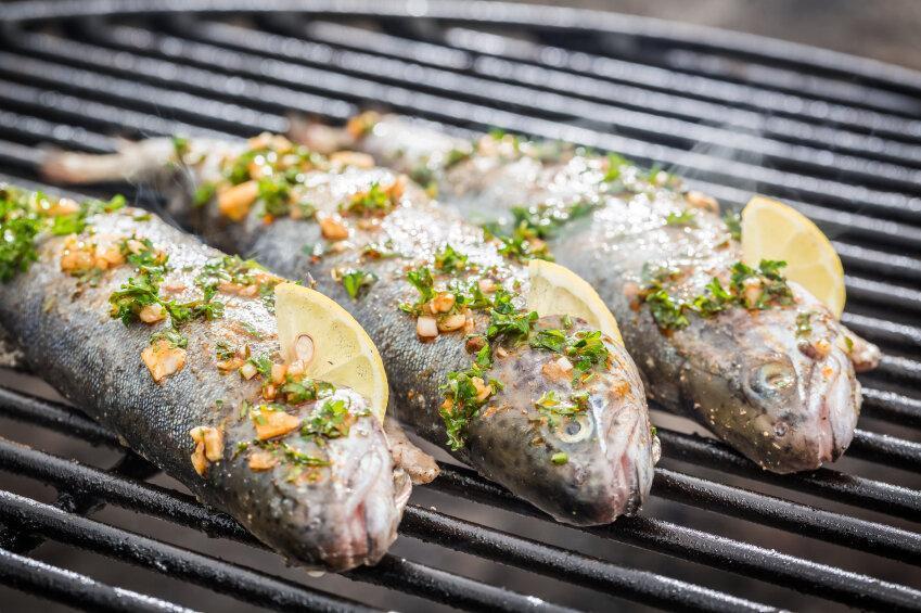 طرز تهیه ماهی کبابی ، فوت وفن درست کردن قزل آلای جذابِ تنوری