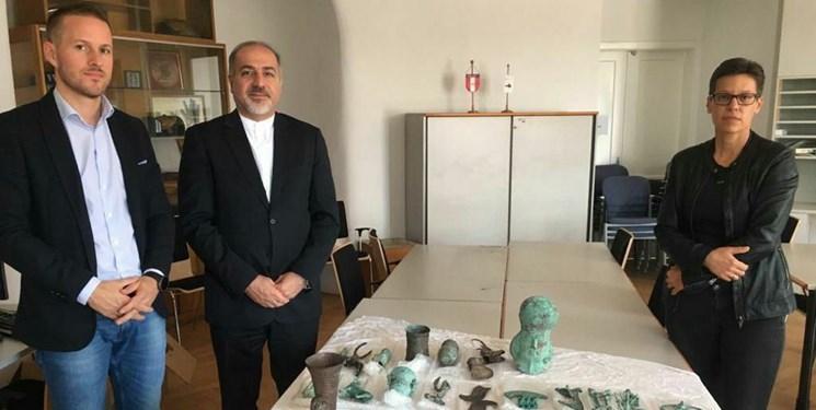 اشیاء باستانی متعلق به ایران از اتریش به کشور بازگردانده می گردد