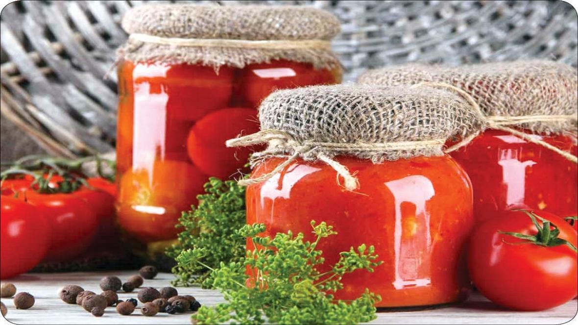 روش هایی برای حفظ گوجه های خوش رنگ تابستان